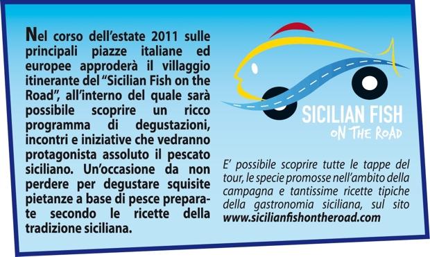 Box con scritta Sicilian Fish
