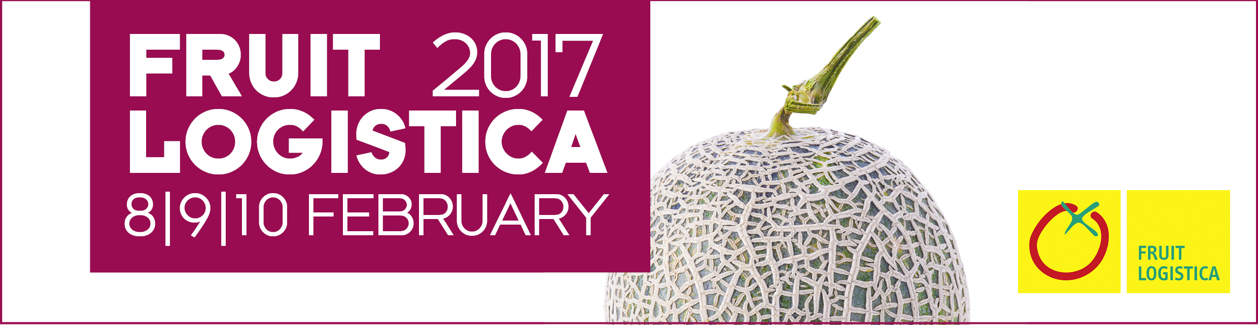 Banner Fruit Logistica 2017