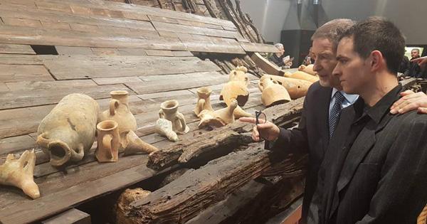 ARCHEOLOGIA - La Nave di Marausa in mostra a Marsala