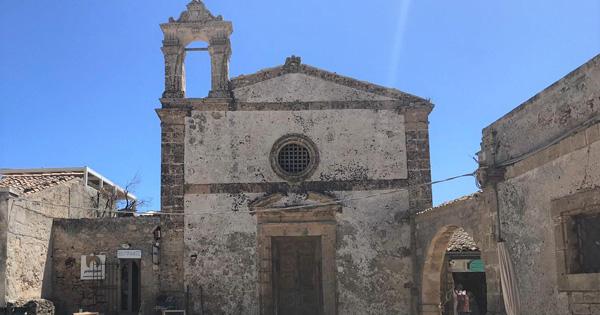 MARZAMEMI - Chiesa San Francesco diventa museo del mare