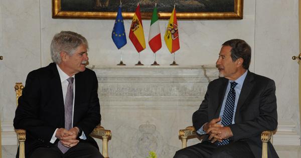 RAPPORTI ISTITUZIONALI - Ambasciatore di Spagna a Palazzo d'Orleans