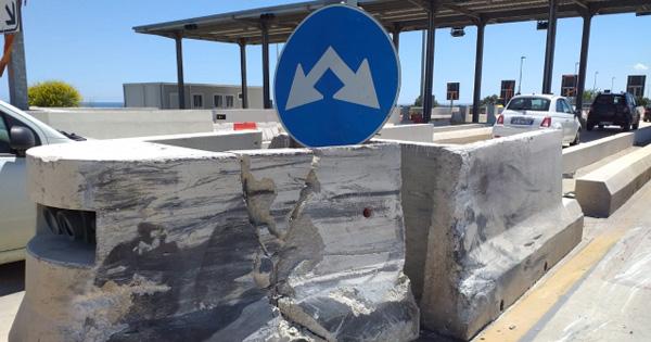 SIRACUSA-GELA - Casello di Cassibile, Cas a breve lo demolirà