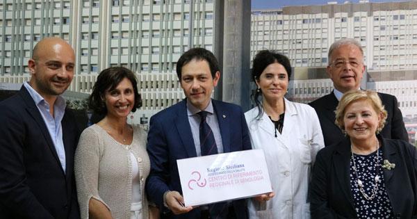 SALUTE - Rete oncologica della Sicilia, presentato il logo