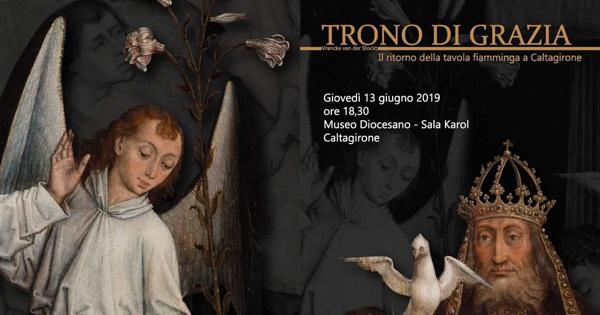 CULTURA - A Caltagirone si inaugura mostra sul 'Trono di grazia'