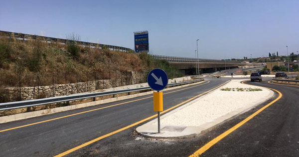 VIABILITÀ - Bretella Noto-Pachino apre al traffico dopo 8 anni