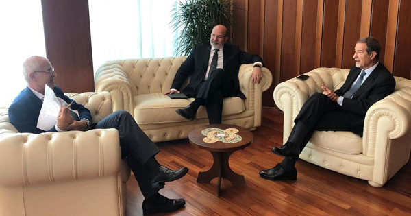 POST SISMA ETNA - Vertice a Catania tra Musumeci e Crimi