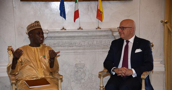 RAPPORTI ISTITUZIONALI - Nigeria, l'ambasciatore a Palazzo d'Orleans