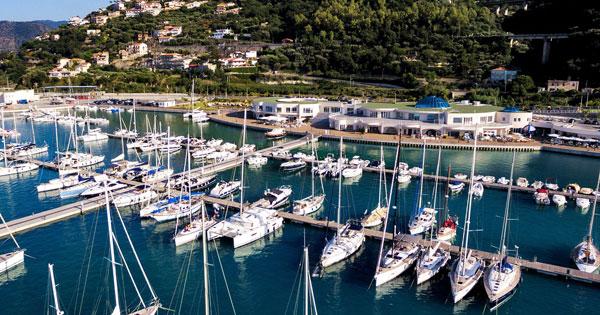 TURISMO - Capo d'Orlando, Musumeci in visita al porto