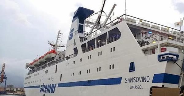 ISOLE MINORI - La nave Sansovino torna in servizio a Lampedusa