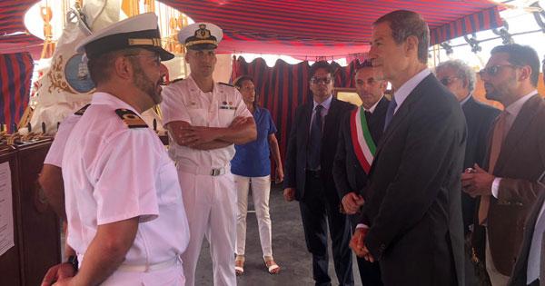 ISOLE MINORI - Visita lampo di Musumeci a Pantelleria
