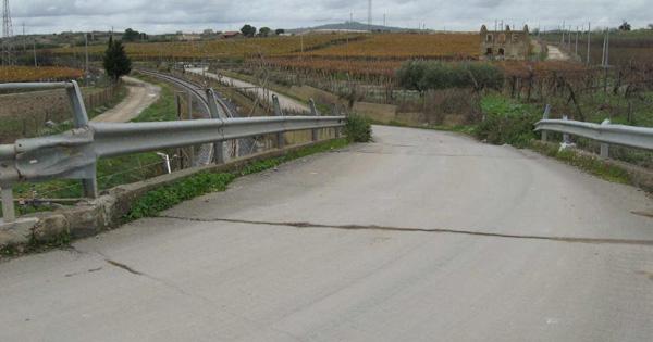 DISSESTO IDROGEOLOGICO - Canicattì, dopo 20 anni in sicurezza strada rurale