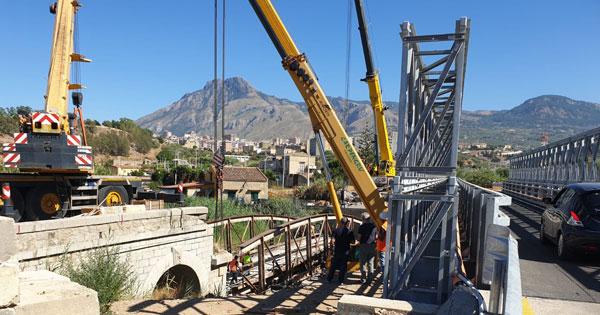 TERMINI IMERESE - Ponte San Leonardo, prosegue ricostruzione