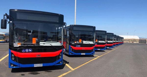 TRASPORTO PUBBLICO LOCALE - Amt Catania, altri nove bus con fondi Regione