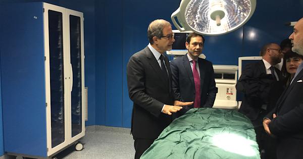 Ospedale di Caltanissetta, inaugurato il nuovo complesso operatorio