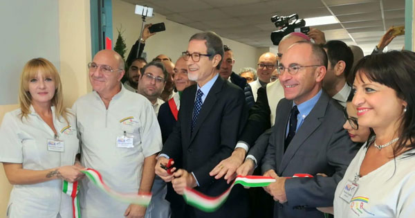 OSPEDALE DI ACIREALE - Inaugurato il reparto di Odontoiatria speciale