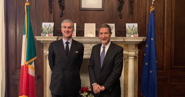 NEW YORK - Musumeci incontra il console italiano