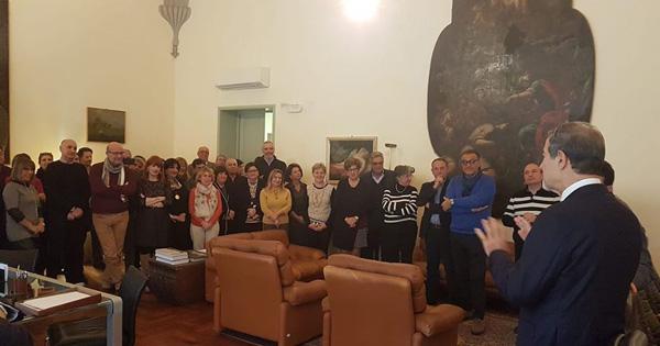 TRAPANI - Musumeci visita uffici periferici della Regione