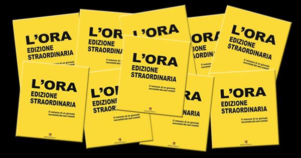 PUBBLICAZIONI - Catania, si presenta L'Ora edizione straordinaria
