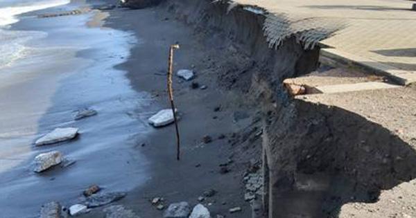DISSESTO IDROGEOLOGICO - A Barcellona si mette in sicurezza il litorale