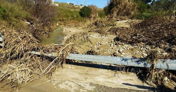DISSESTO IDROGEOLOGICO - Sciacca, in sicurezza il torrente Baiata