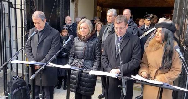 GIORNATA DELLA MEMORIA - Musumeci partecipa a celebrazioni a New York
