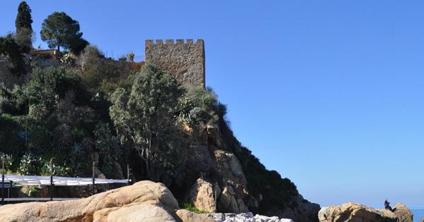 TUSA - Si consolida il costone del Castello San Giorgio
