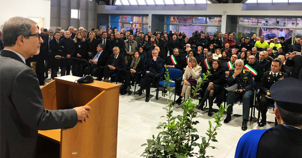 POZZALLO - Musumeci inaugura la stazione marittima