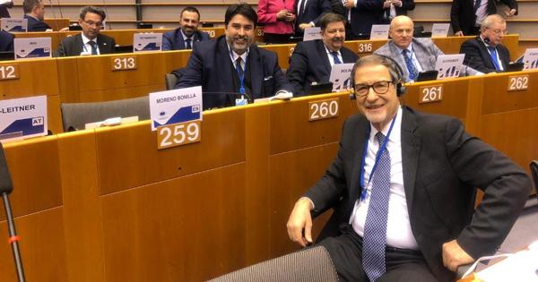 UNIONE EUROPEA - Musumeci si insedia al Comitato delle Regioni
