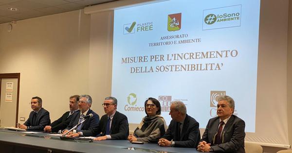 ECOSOSTENIBILITA - Assessorato del Territorio plastic-free al 100%