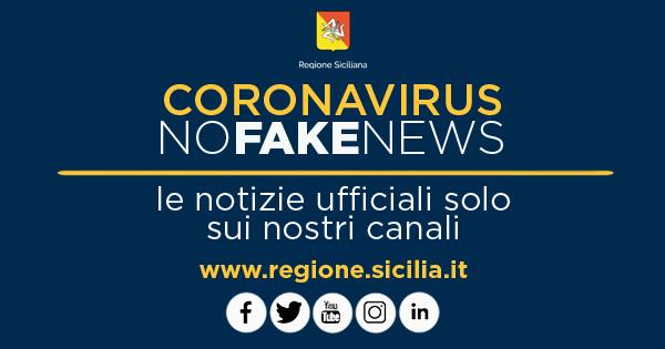 CORONAVIRUS - Informazioni ufficiali su canali Regione