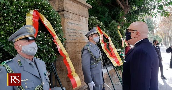 ANNIVERSARIO MATTARELLA - L'omaggio del governo regionale