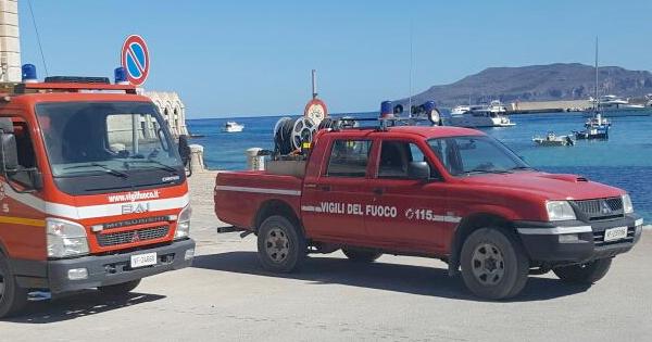 INCENDI - Musumeci: 'Un presidio dei pompieri a Favignana'