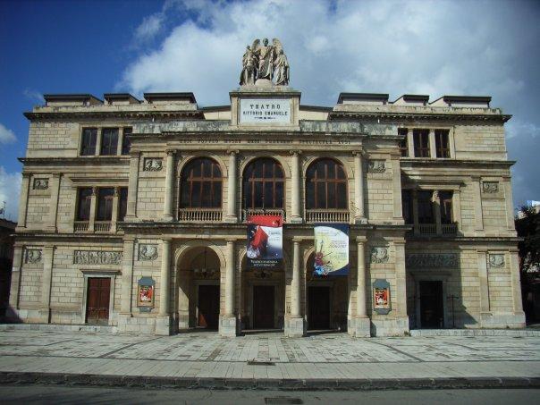 Messina: il Teatro Vittorio Emanuele