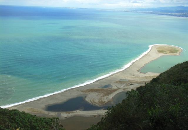 Patti: veduta sui laghetti di Marinello e del golfo