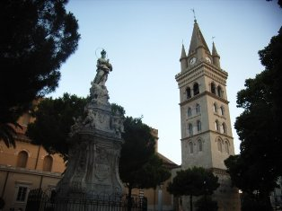 Messina: Duomo (campanile)
