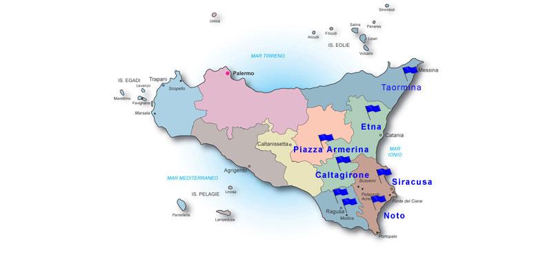 Assessorato regionale del turismo dello sport e dello spettacolo itinerario sicilia orientale altavistaventures Image collections