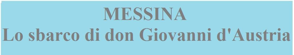 Messina don Giovanni d'Austria banner