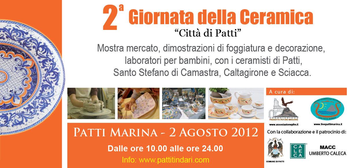 Patti: II Giornata della Ceramica domenica 5 agosto