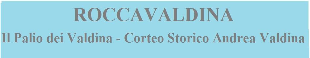 banner corteo storico roccavaldina