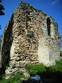 Rometta Superiore: Palatium di Federico II