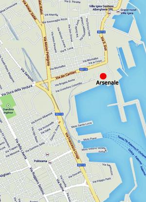 Mappa Arsenale