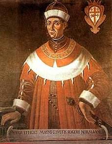 Ruggero I (Sagrestia Cattedrale Patti)