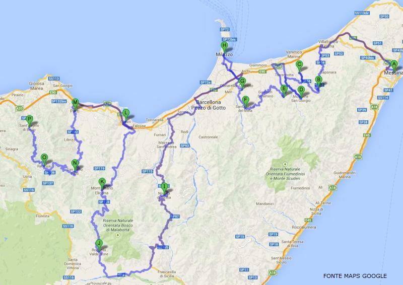 Itinerario normanno tirrenico 1