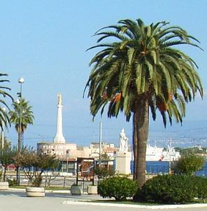 Stele votiva Madonnina del porto di Messina
