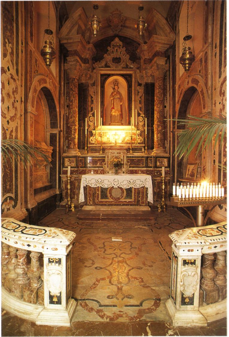 Cappella Santa Febronia Cattedrale Patti
