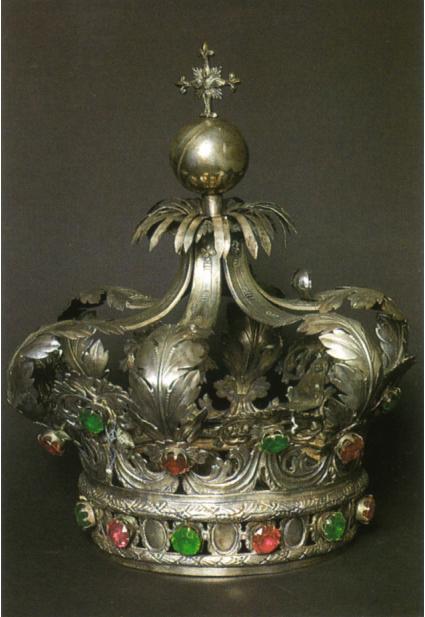 Corona Immacolata argento Museo Diocesano Patti