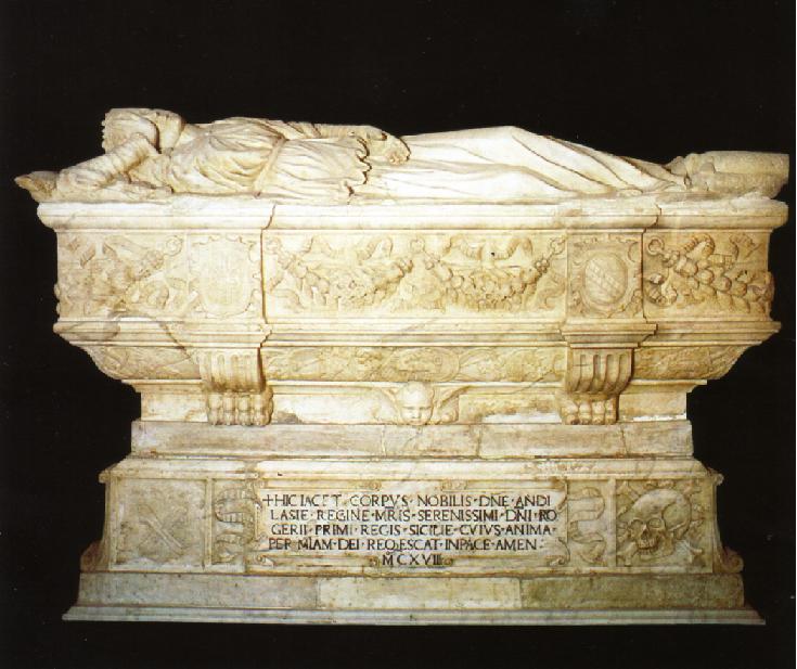 Sarcofago Adelasia Cattedrale Patti
