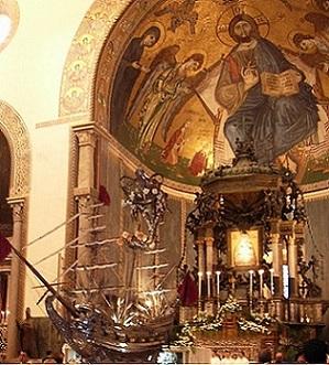 Vascelluzzo nella Cattedrale di Messina