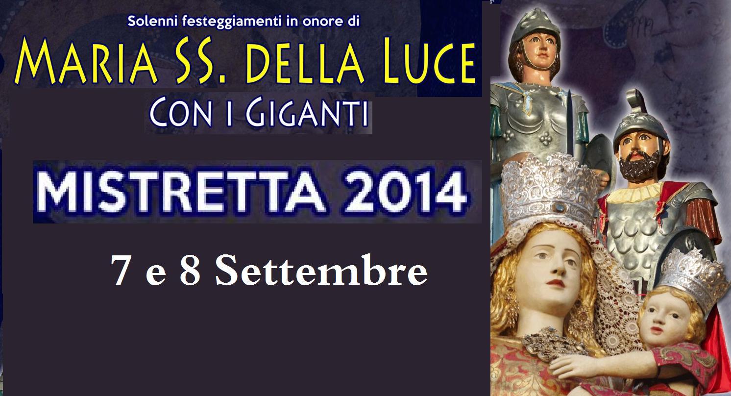 Mistretta: I Guerrieri Giganti Cronos e Mitia nella Festa della Madonna della Luce (7-8 Settembre)