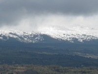 Etna: prime nevicate di ottobre